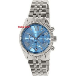 Michael Kors Men's Lexington MK5887 Blue Stainless-Steel WATCHES WITH BLUE CELL