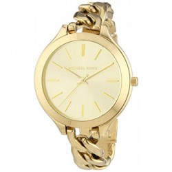 WOMEN'S WATCHES MINUTE MICHAEL CORS SLIM RUNAWAY CHAMPAGNE MK3222