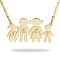 Silver family in all colors and with initials