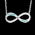 Pendants & Bracelet Infinite silver