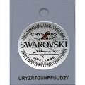 Ασημενιο επιχρυσωμενο  κολιε καρδια με λευκο SWAROVSKI sw5