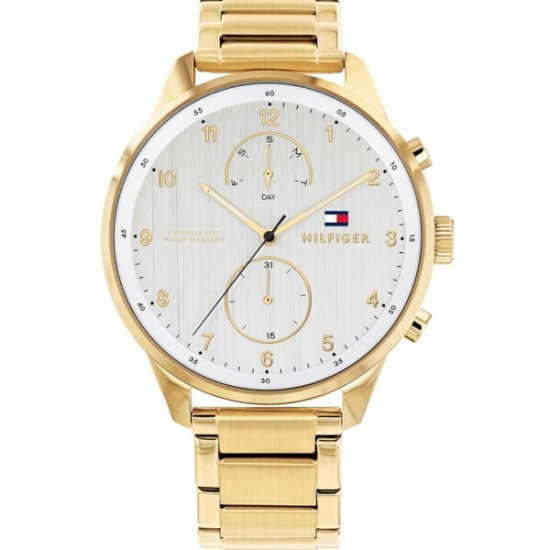 Tommy Hilfiger 1791576 Chase Gold Stainless Steel Bracelet surprise gift box silver jewel 29e