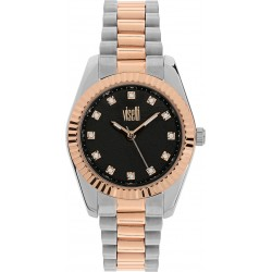 VISETTI City Link Crystals Stainless Steel Watch ZE-499SR