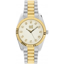 Visetti ZE-499SGI two-tone women's watches with zircon on the dial AND SURPRICE BOX 19 E