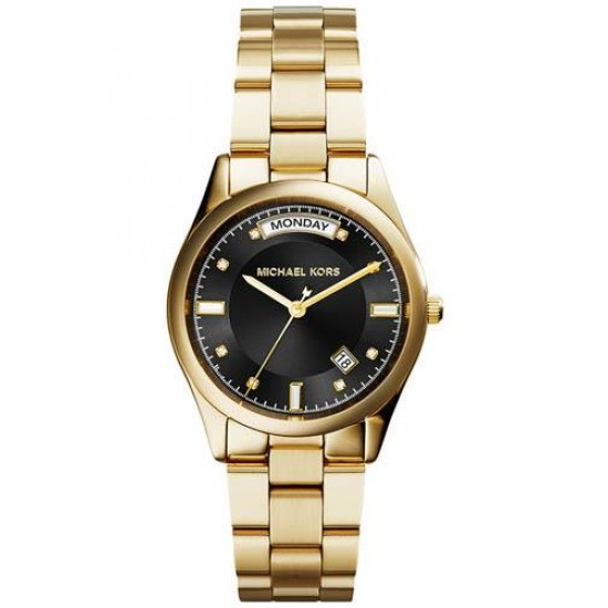 Michael Kors COLETTE MK6070 GOLD PLATED WITH BLACK SCREEN