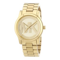 MICHAEL KORS MK5786 WATCH GOLD PLATED WITH LOGO