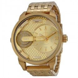 Diesel MINI DADDY DZ7306 IN GOLD COLOR K 2 HOURS FREE SHIPPING