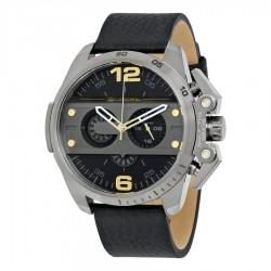 Diesel IRONSIDE DZ4386 WITH BLACK STRAP AND CHRONOGRAPH